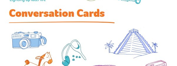 Cards to help chat with people with dementia